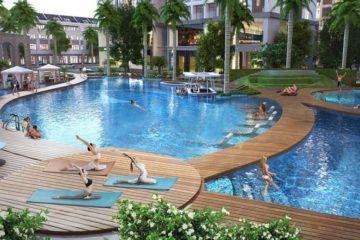 Thư giãn tuyệt vời với tổ hợp bể bơi lớn nhất Đông Nam Á tại Vinhomes Đan Phượng (2)